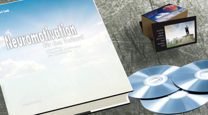 """Neues Buch """"Programm der Neuromotivation für den Verkauf"""""""